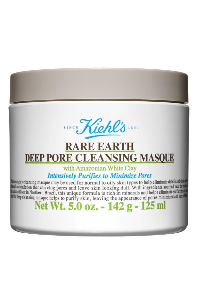 KIEHL'S SINCE 1851 Rare Earth Deep Pore Cleansing Face Mask, Main, color, NO COLOR