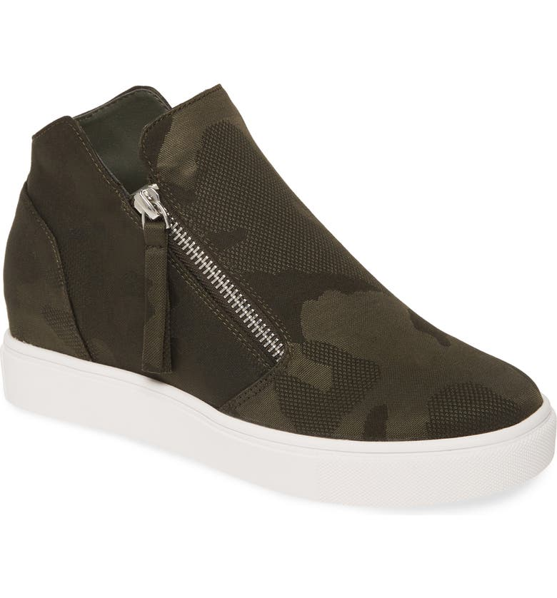 STEVE MADDEN Caliber High Top Sneaker, Main, color, CAMO