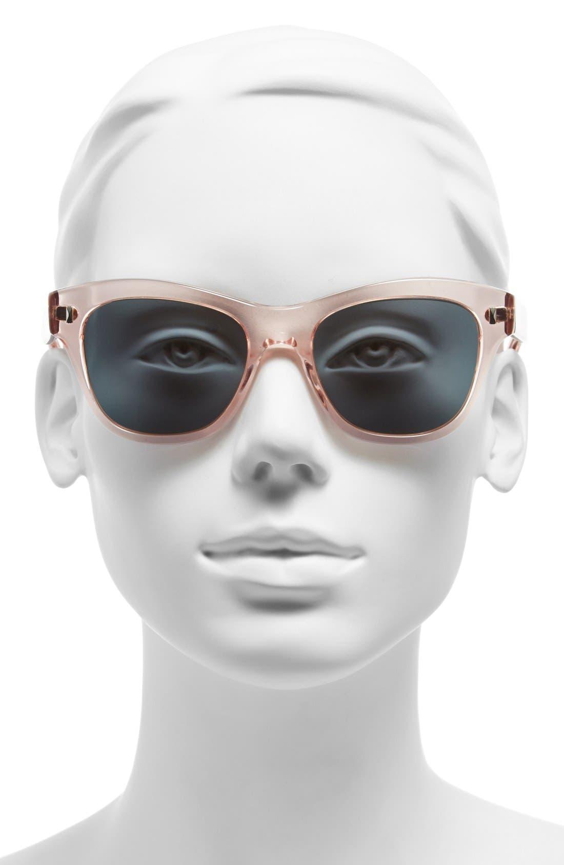 ,                             'Sofee' 53mm Retro Sunglasses,                             Alternate thumbnail 6, color,                             650