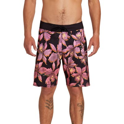 Volcom Fauna Mod Board Shorts, Pink