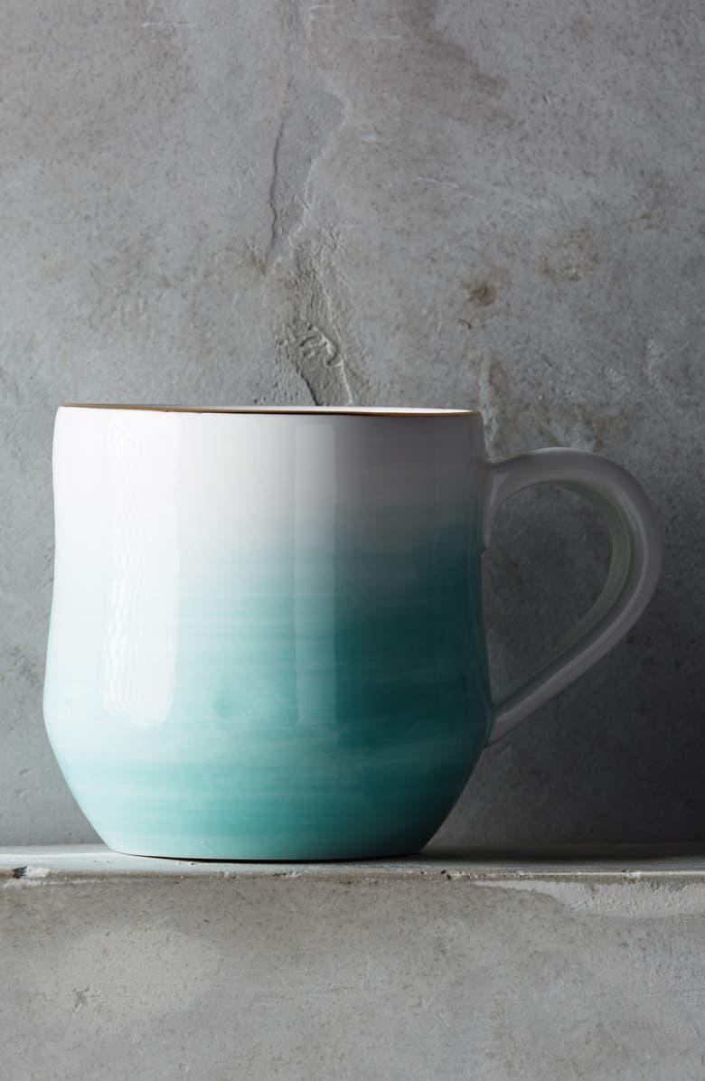 ANTHROPOLOGIE HOME Anthropologie Mimira Stoneware Mug, Main, color, 440