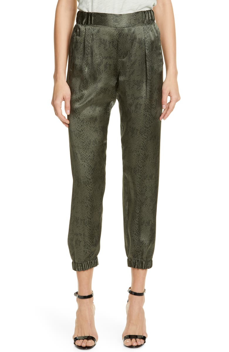 ATM ANTHONY THOMAS MELILLO Silk Jogger Pants, Main, color, 386