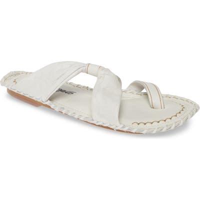 Free People Bailey Slide Sandal, White