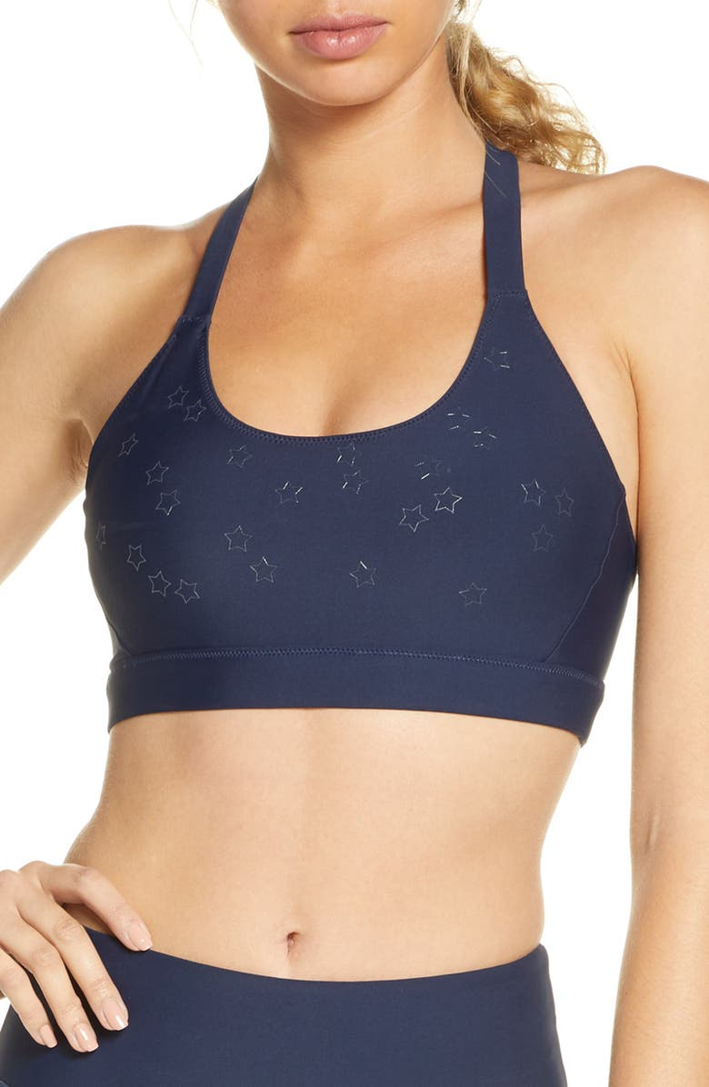 SOUL BY SOULCYCLE Stars in the Sky Sports Bra, Main, color, 410