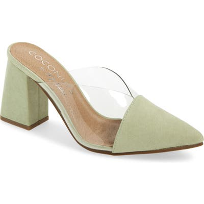 Coconuts By Matisse Shauna Translucent Mule, Green