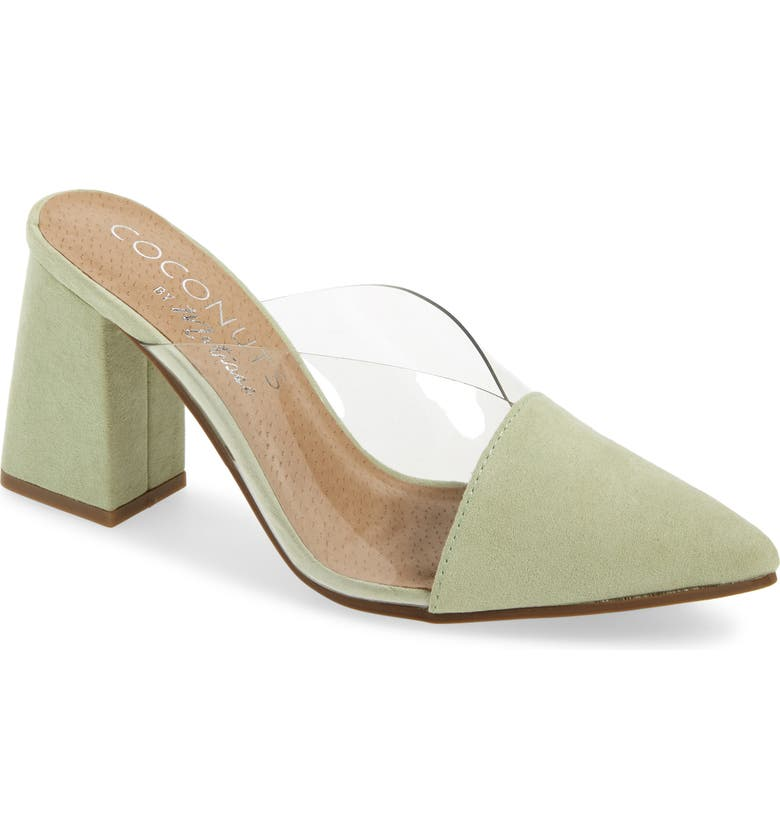 COCONUTS BY MATISSE Shauna Translucent Mule, Main, color, MINT