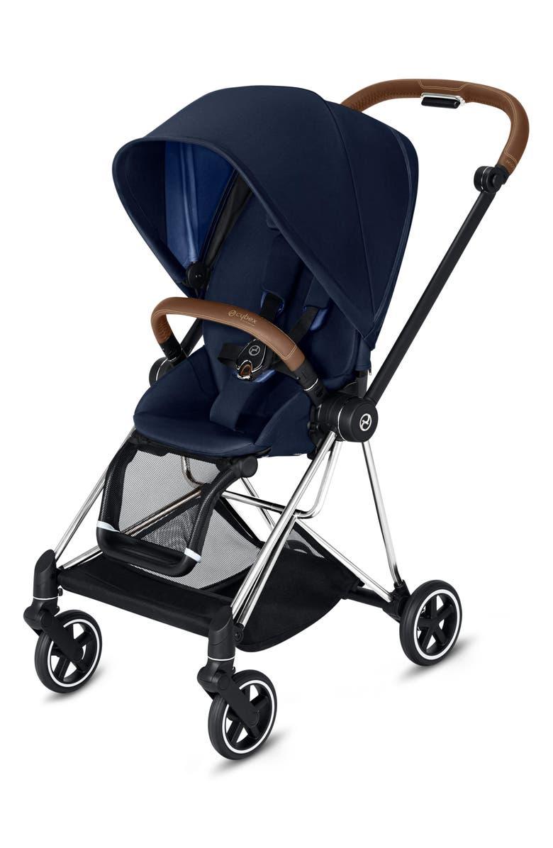 CYBEX Mios Compact Stroller, Main, color, INDIGO BLUE