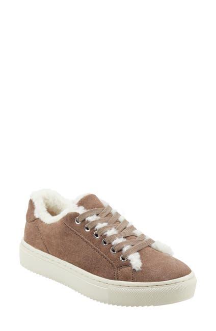 Image of Marc Fisher LTD Dakari Faux Fur Lined Sneaker