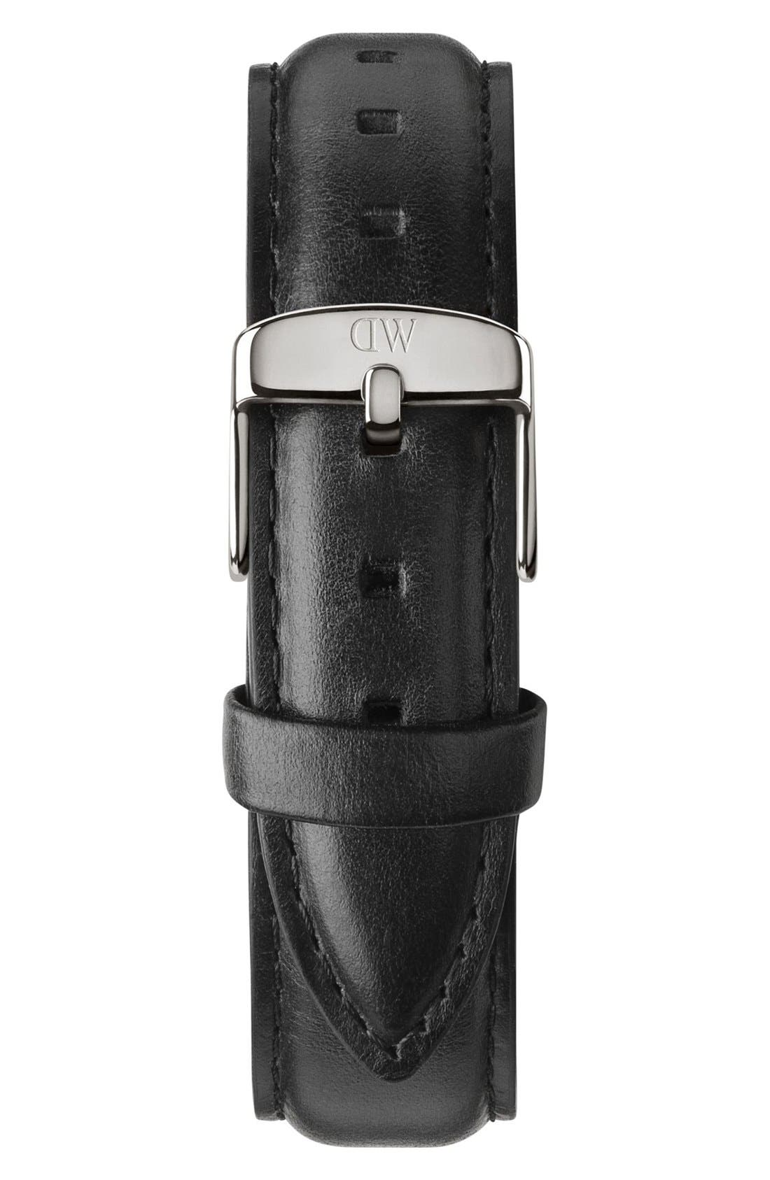 'Classic Sheffield' 18mm Leather Watch Strap