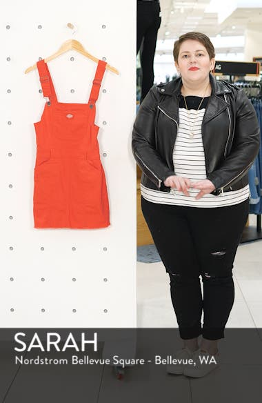 Twill Overall Dress, sales video thumbnail