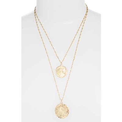 8 Other Reasons X Jill Jacobs Layered Pendant Necklace