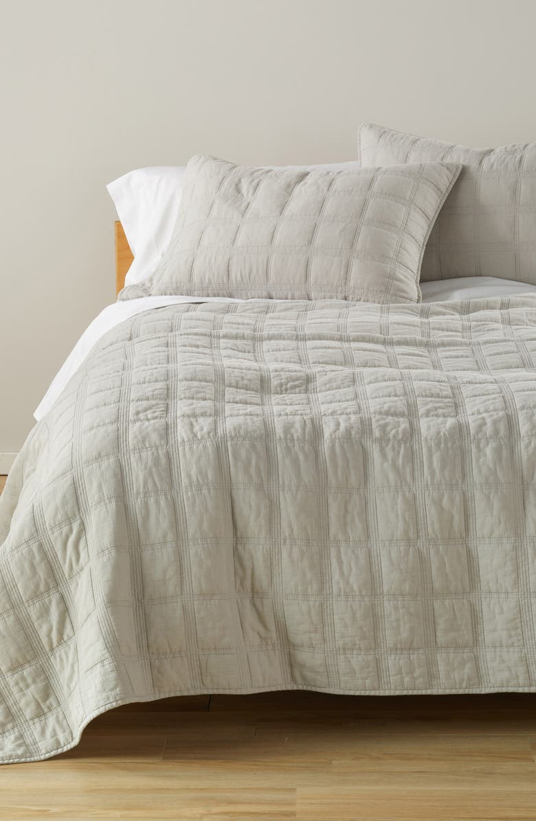 TREASURE & BOND Everyday Stonewash Quilt, Main, color, 050