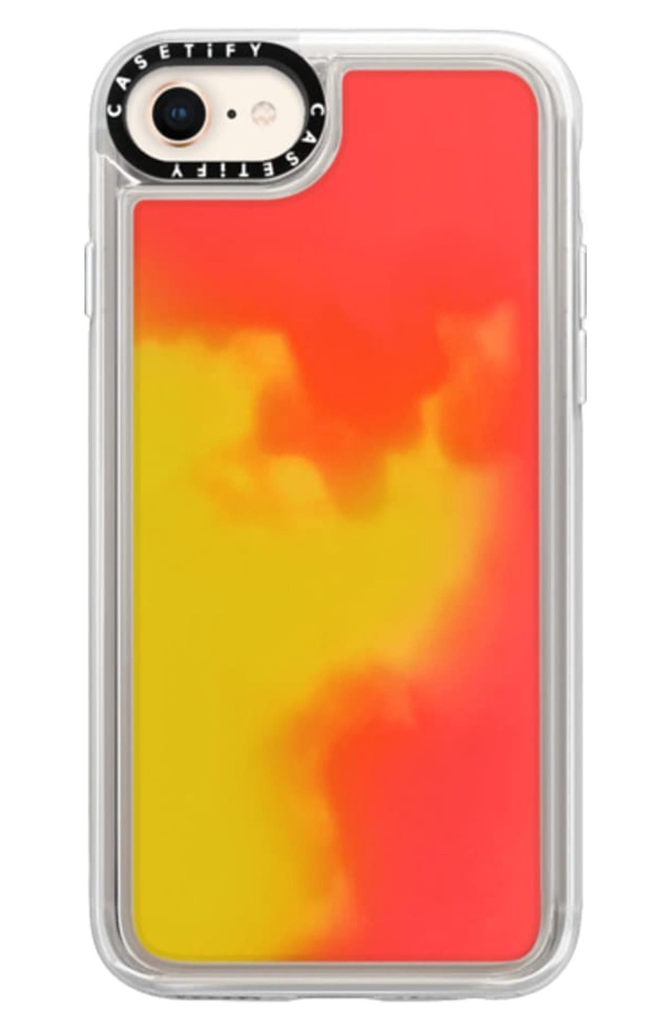 This hard-shell case is co-molded with an impact-absorbing soft inner layer and features a screen-protective bezel. Style Name: Casetify Neon Sand Iphone 7/8 Pro Max Case. Style Number: 5999346. Available in stores.