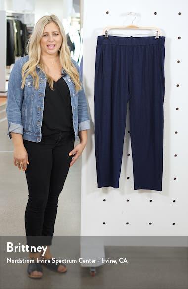 Hemp & Organic Cotton Tapered Ankle Pants, sales video thumbnail