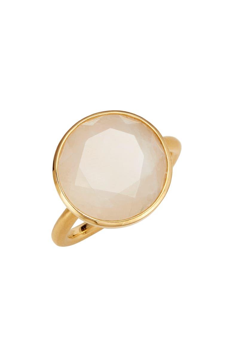 DEAN DAVIDSON Knockout Ring, Main, color, MOONSTONE/ GOLD