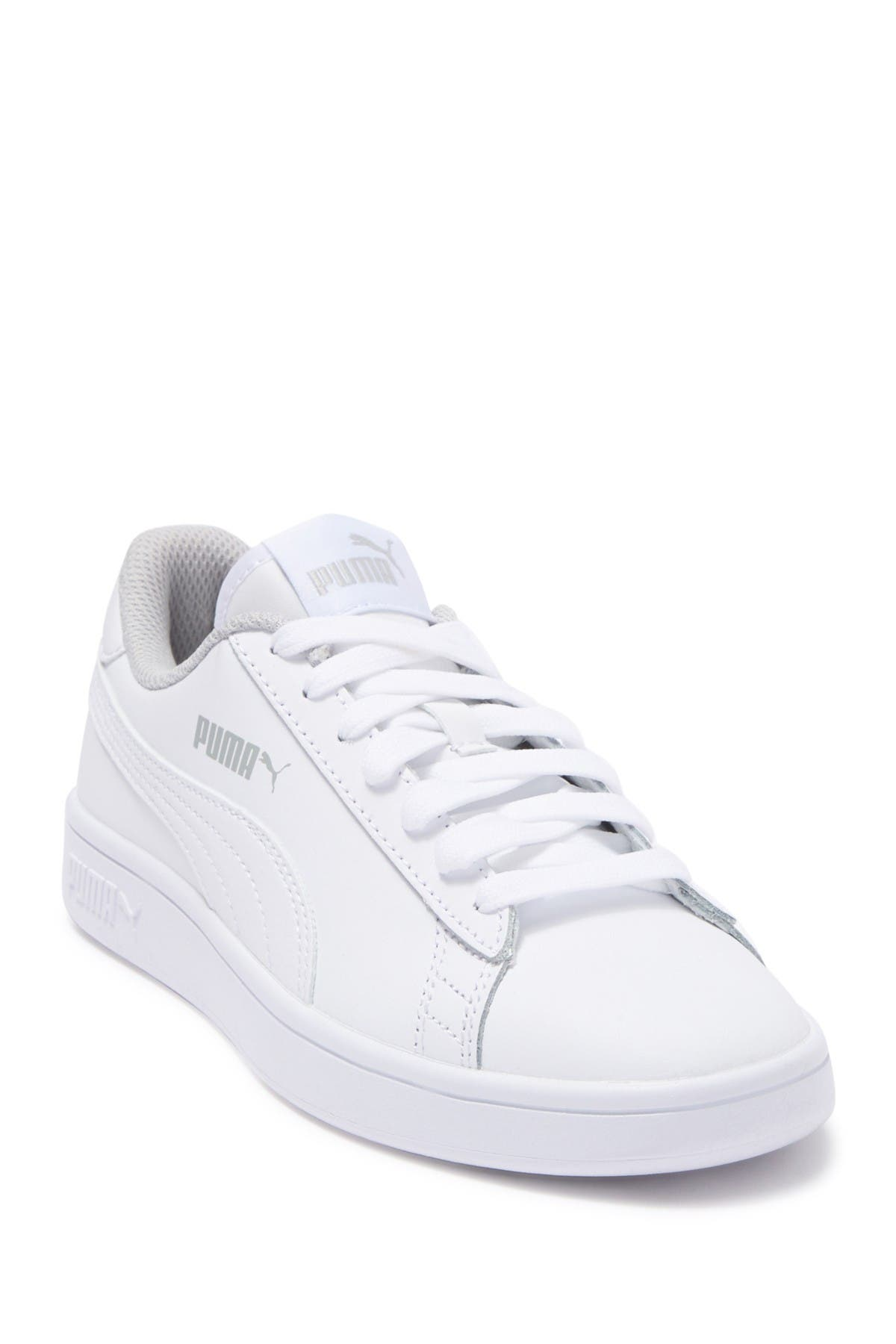PUMA | Smash V2 L Jr Leather Sneaker