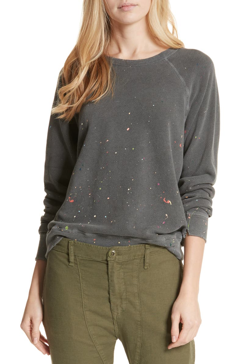 THE GREAT. The College Sweatshirt, Main, color, 001