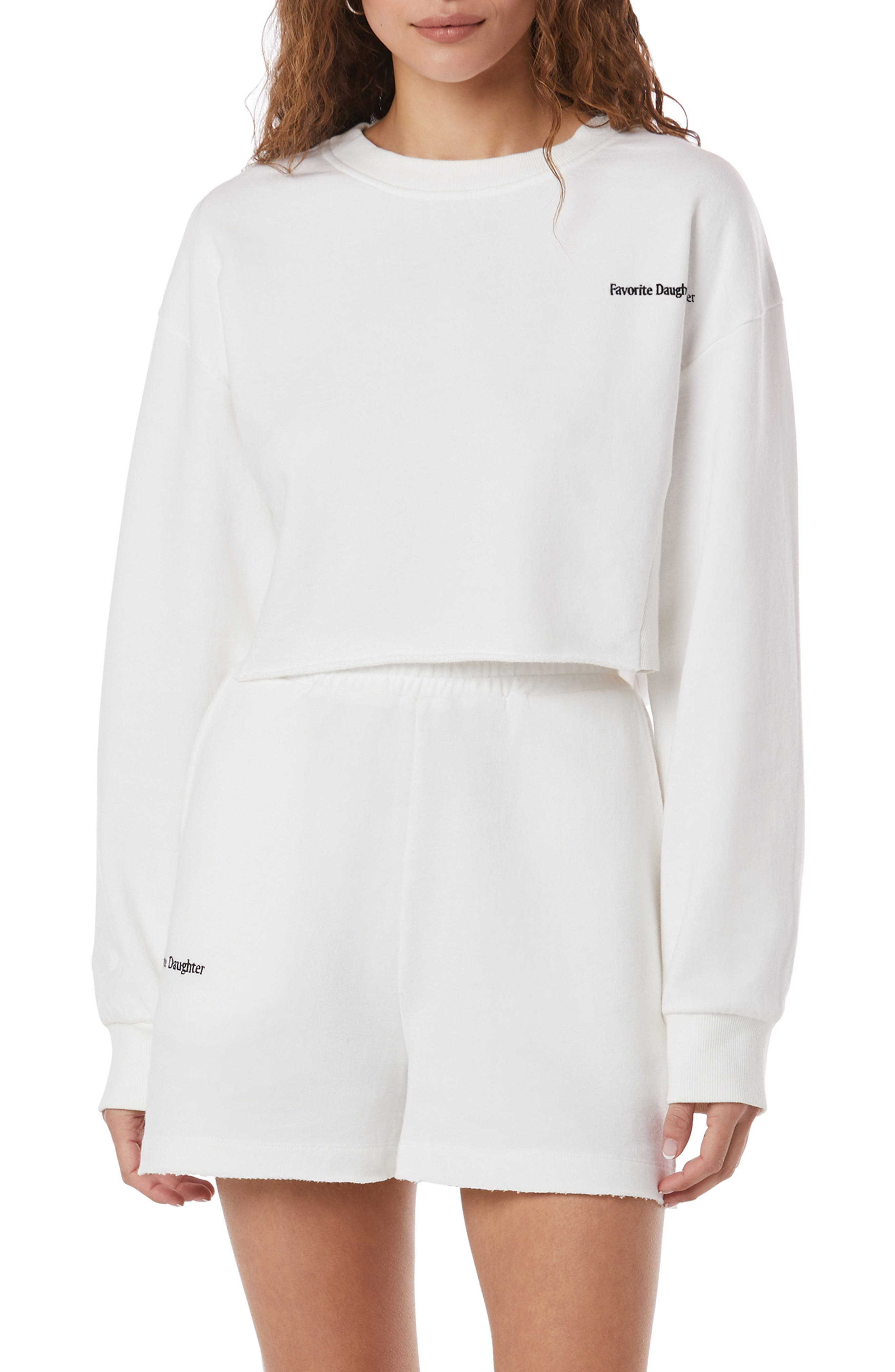 The Jen Crop Sweatshirt