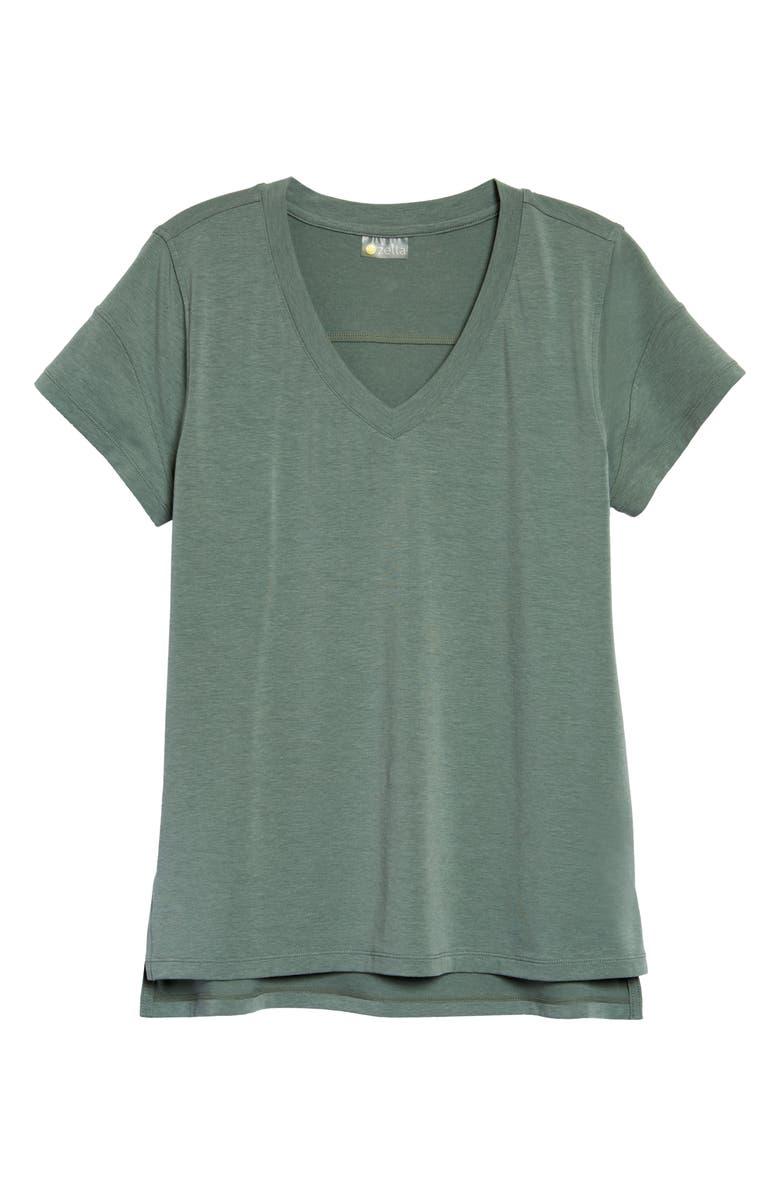 ZELLA Ava T-Shirt, Main, color, GREEN AGAVE
