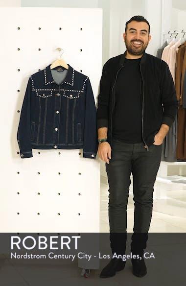 Canguro Studded Denim Jacket, sales video thumbnail