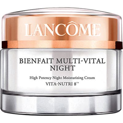 Lancome Bienfait Multi-Vital Night Highly Potent Overnight Face Moisturizer