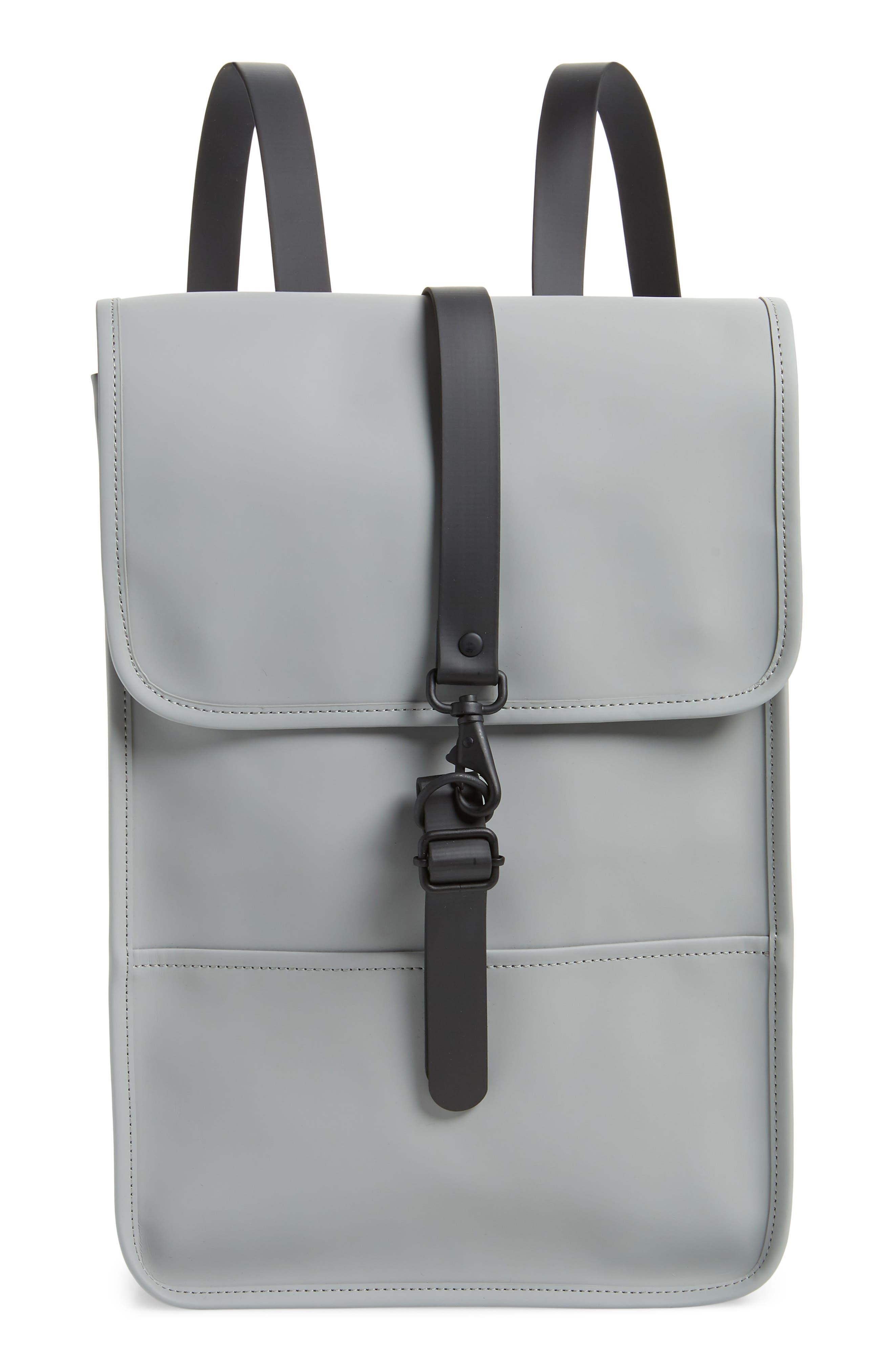 Mini Waterproof Backpack, Main, color, STONE
