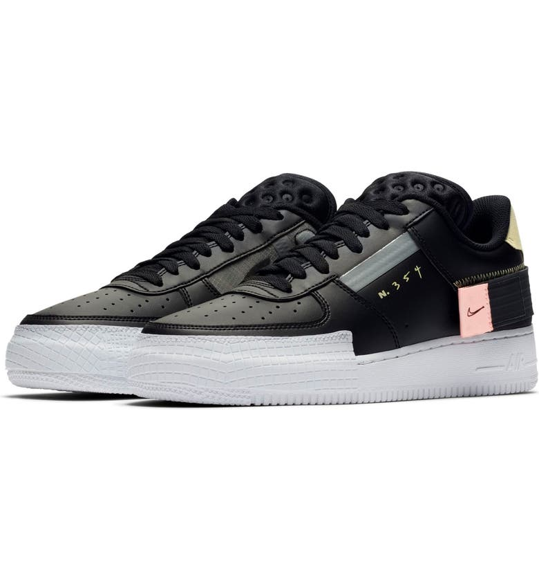 NIKE Air Force 1 Low Type Sneaker, Main, color, 001