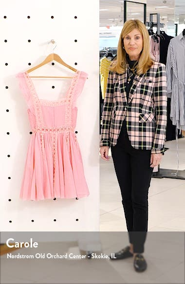 Verona Lace Trim Minidress, sales video thumbnail