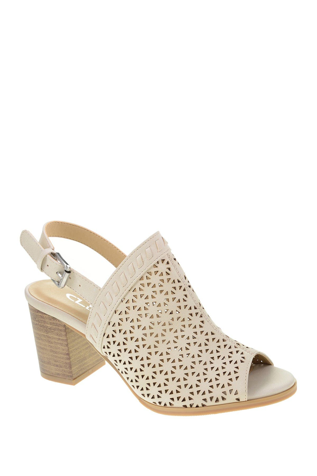 Image of CL by Laundry Jewelled Lasercut Slingback Sandal