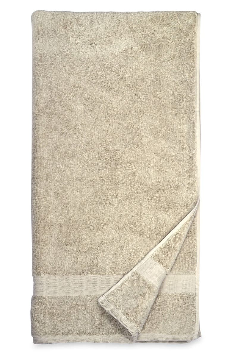 DKNY Mercer Bath Towel, Main, color, STONE