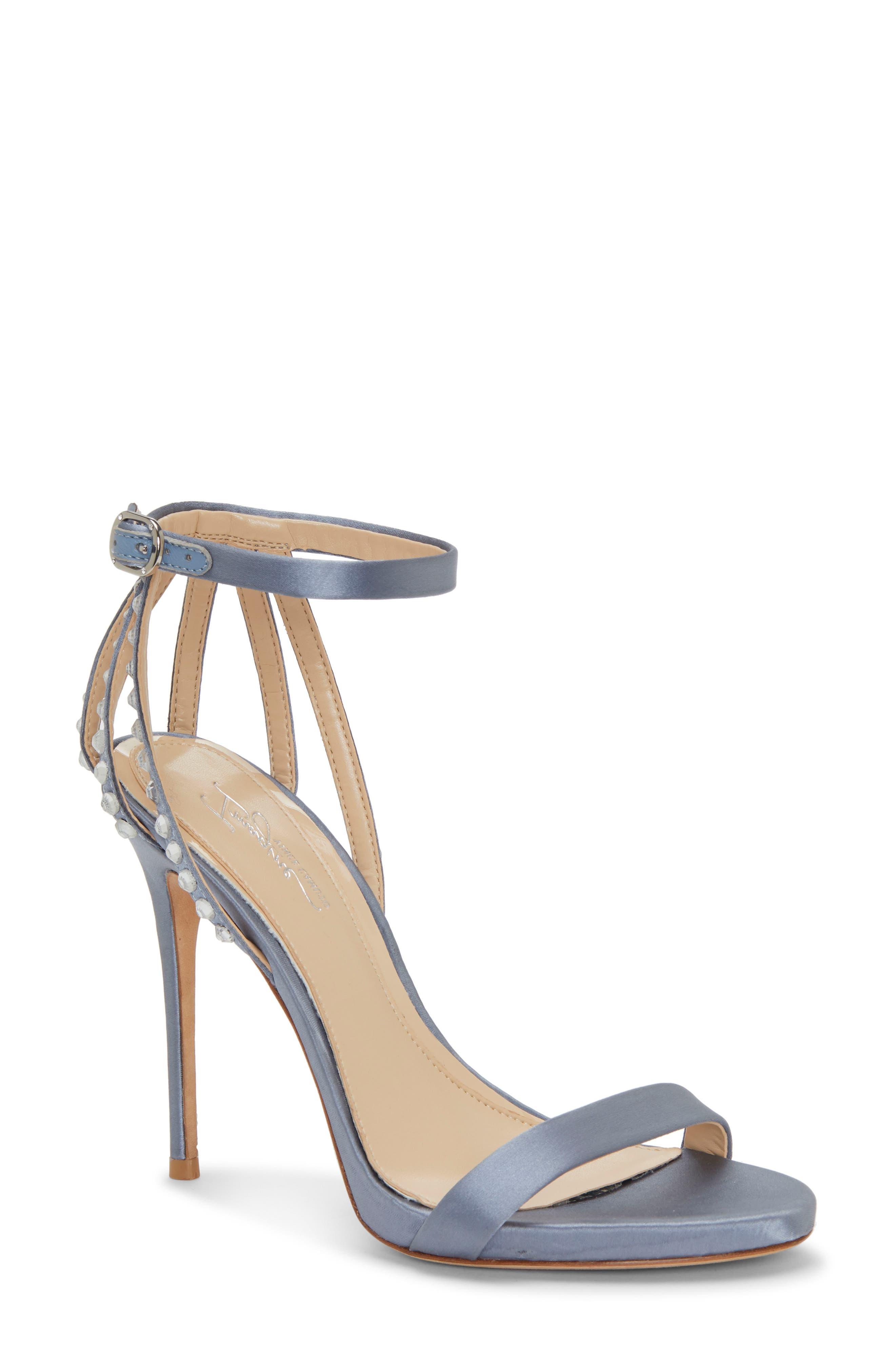 Imagine By Vince Camuto Daphee Crystal Embellished Sandal, Blue
