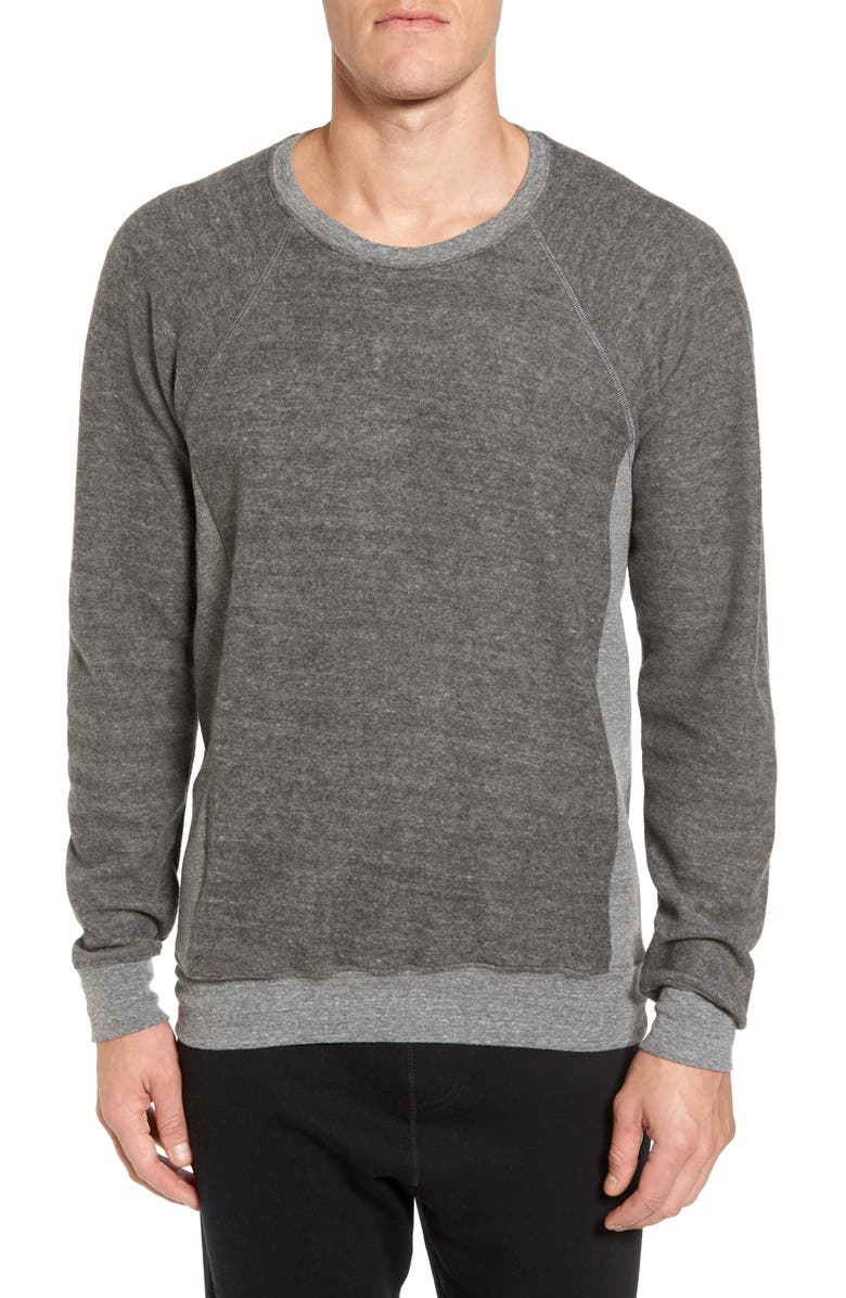 ALO Relaxed Fit Felted Sweatshirt, Main, color, 066