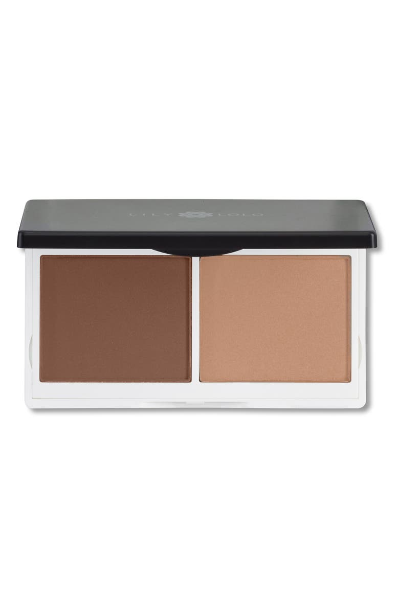 LILY LOLO Sculpt & Glow Contour Duo, Main, color, NO COLOR