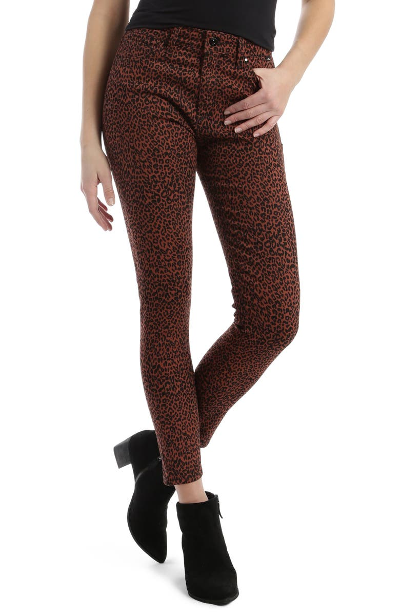 MAVI JEANS Tess High Waist Ankle Super Skinny Jeans, Main, color, 200
