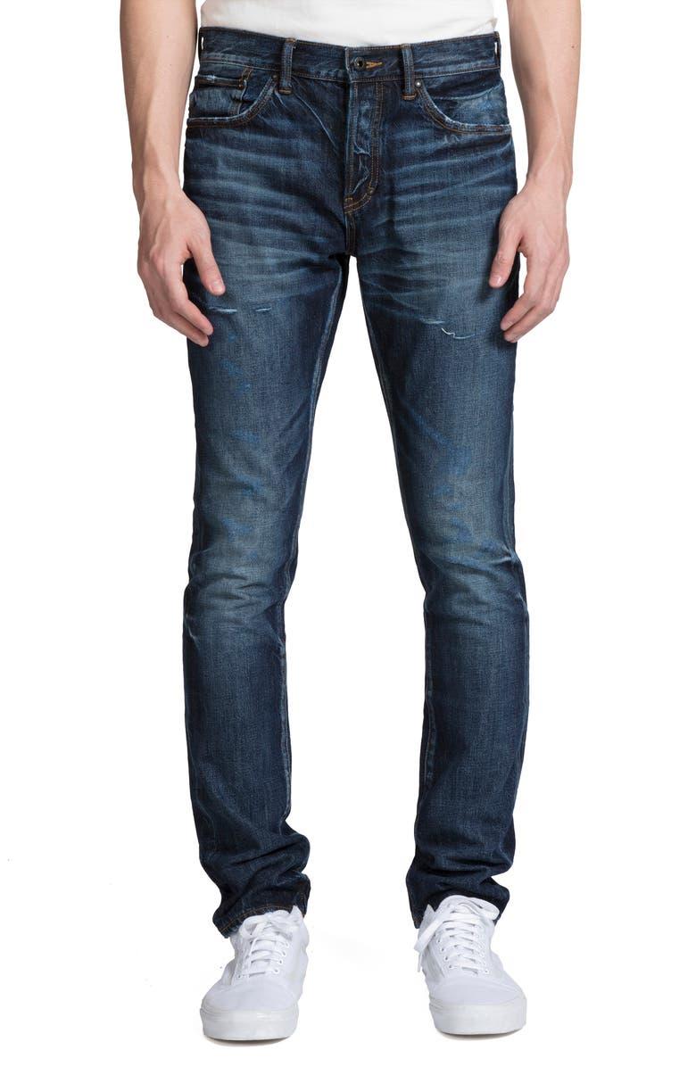 PRPS Le Sabre Slim Fit Jeans, Main, color, MARQUE