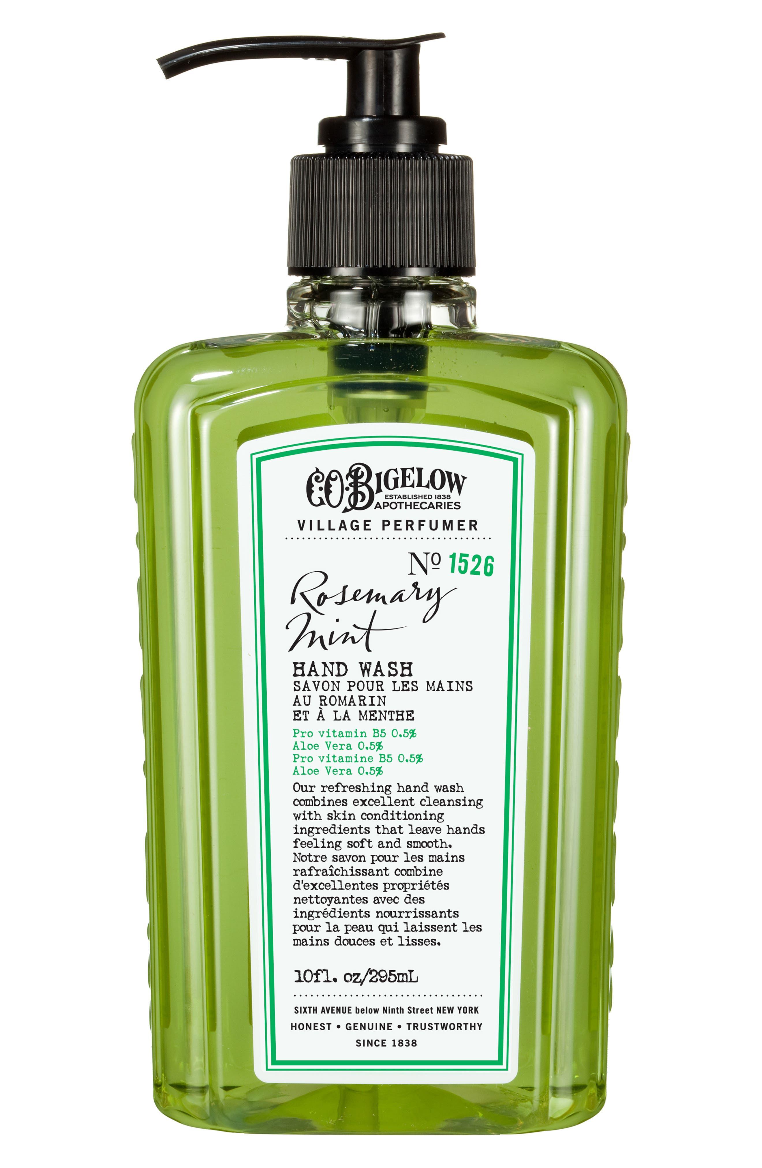 C.O. Bigelow Rosemary Mint Hand Wash