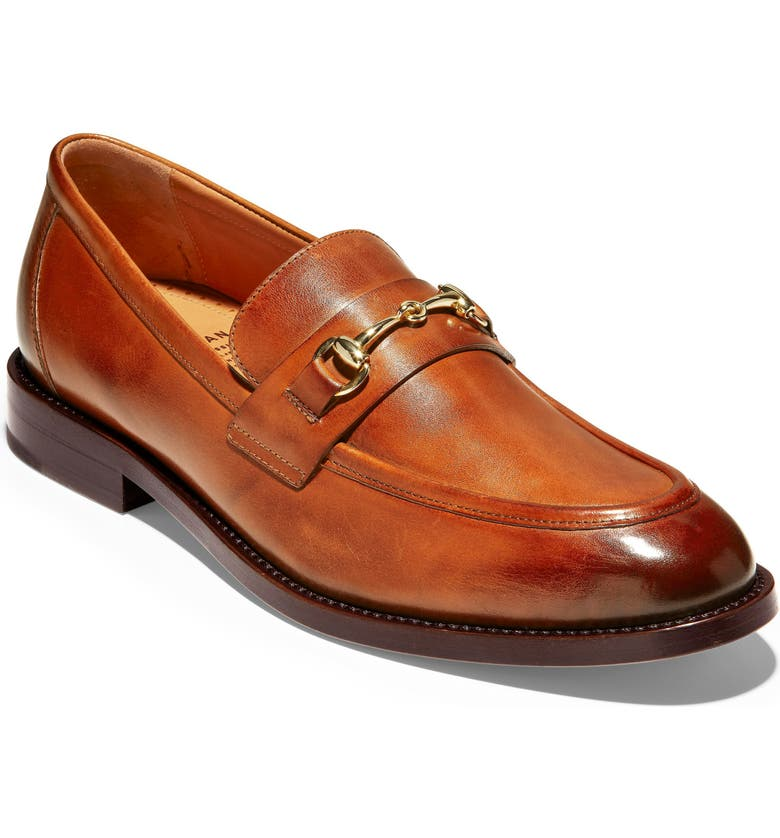 COLE HAAN American Classics Kneeland Bit Loafer, Main, color, BRITISH TAN LEATHER