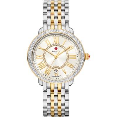 Michele Serein Diamond Watch Head & Bracelet, Mm