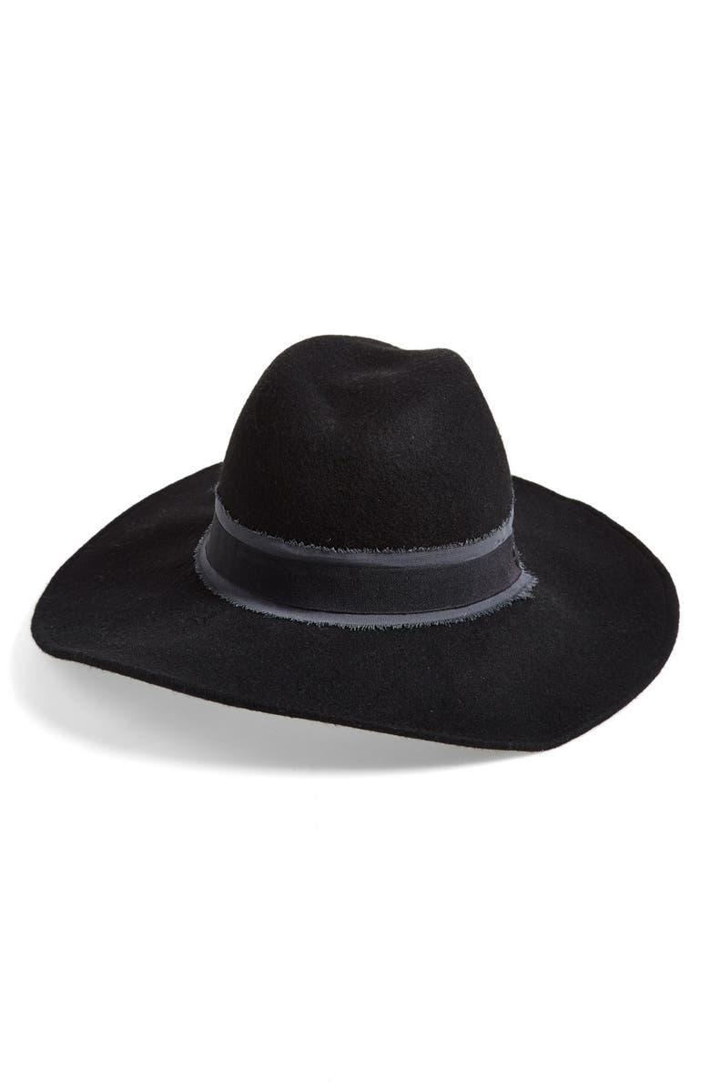 TREASURE & BOND Treasure&Bond Wool Felt Panama Hat, Main, color, 001