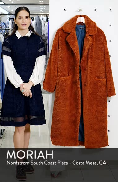Luxe Faux Fur Coat, sales video thumbnail