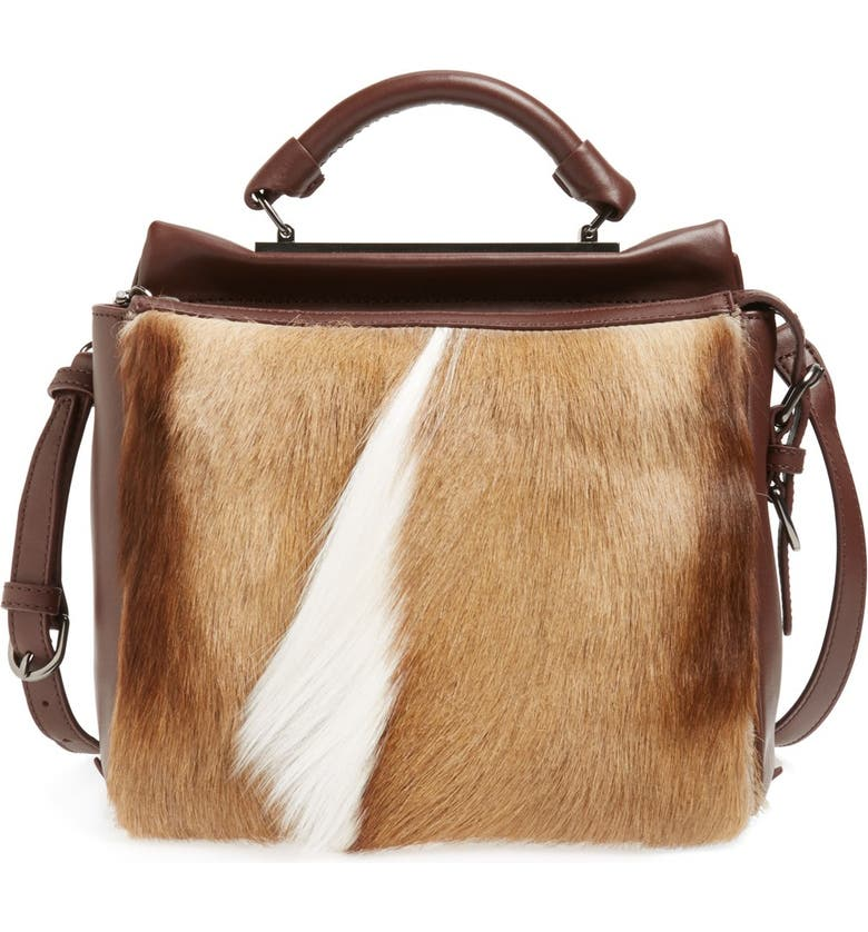 3.1 PHILLIP LIM 'Small Ryder' Fur Satchel, Main, color, 230