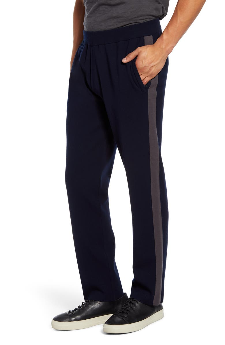 VINCE Classic Track Pants, Main, color, COASTAL/SLATE