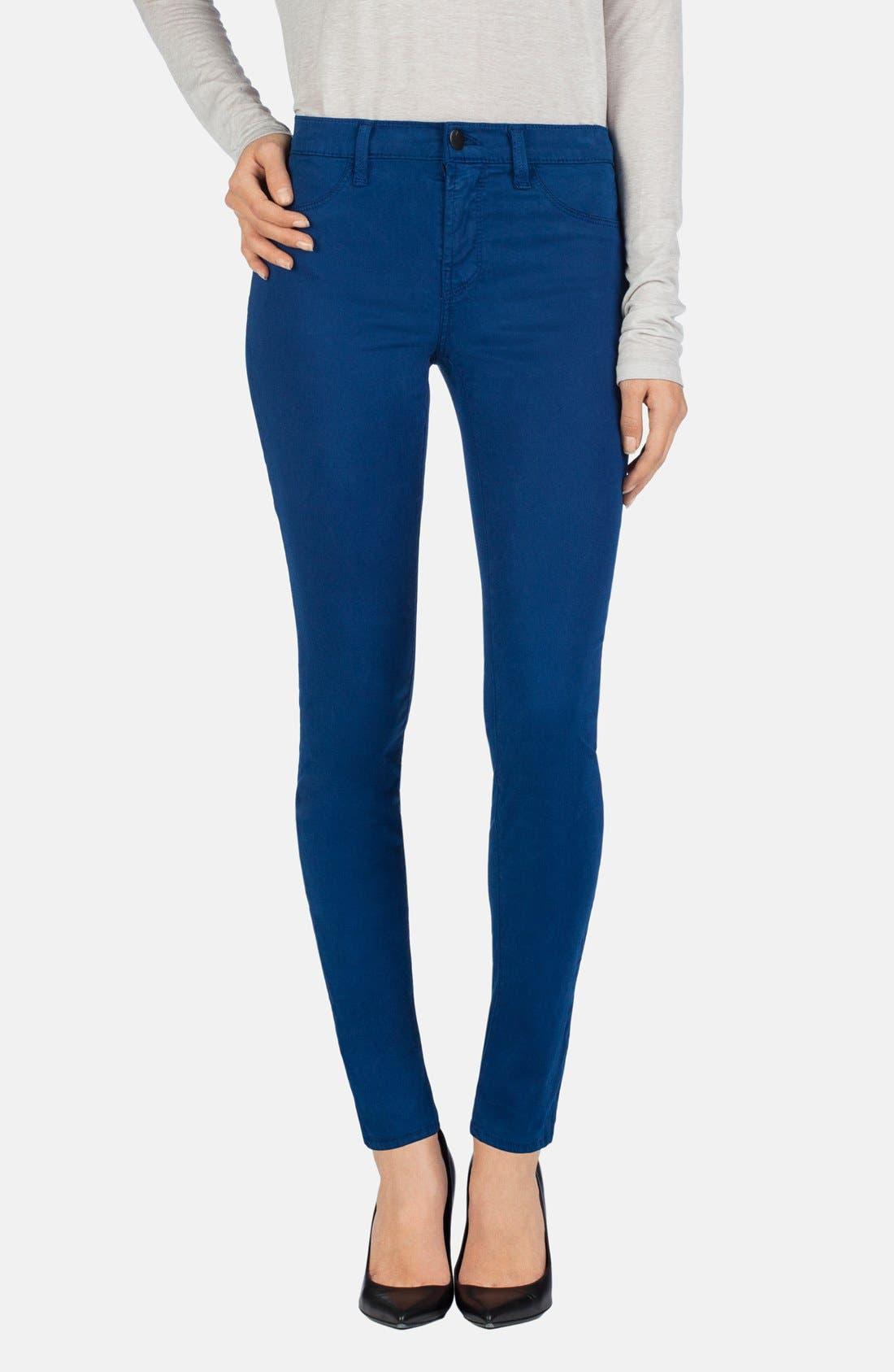 ,                             '485' Mid Rise Super Skinny Jeans,                             Main thumbnail 41, color,                             430