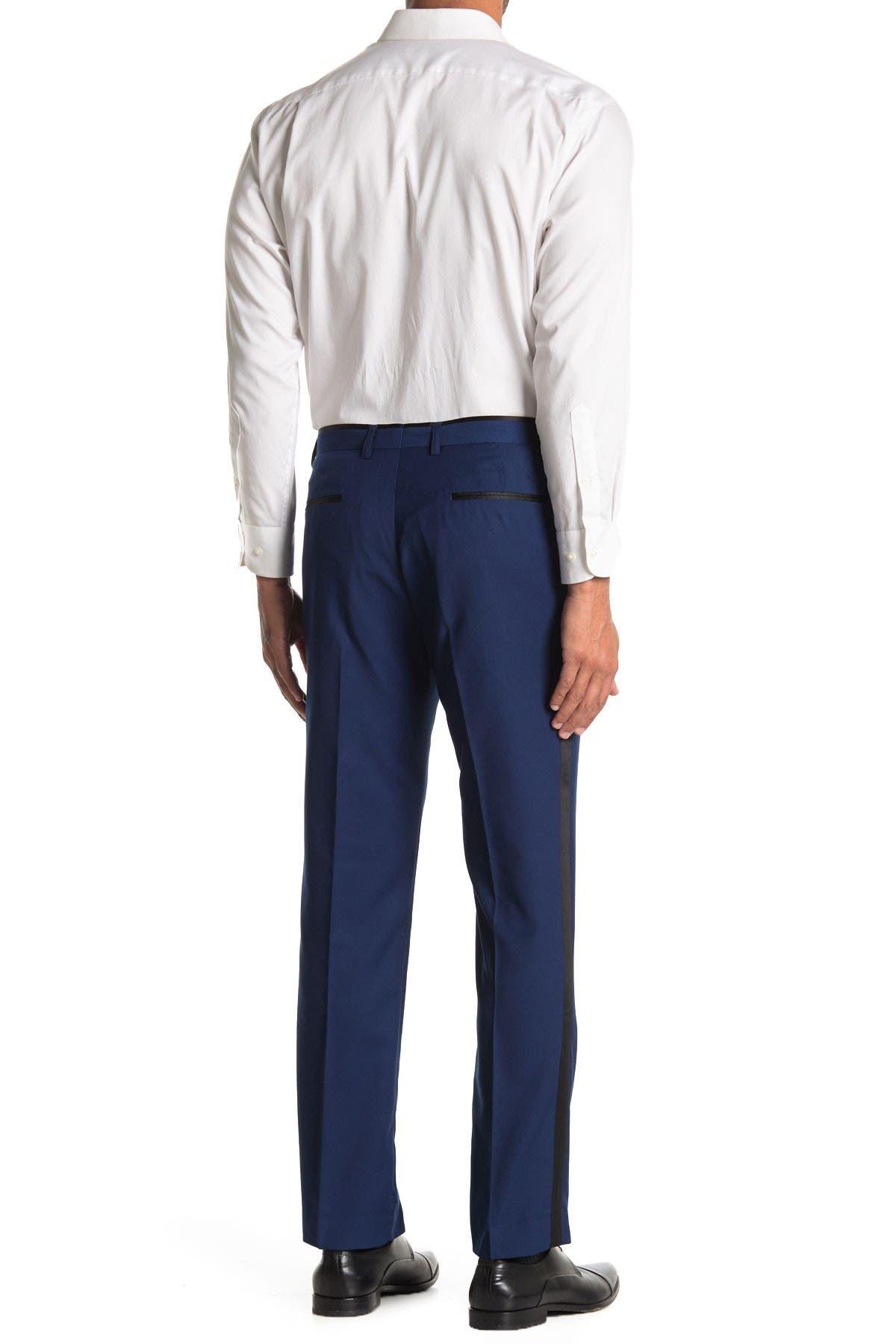 Image of Paisley & Gray Side Stripe Tuxedo Pants
