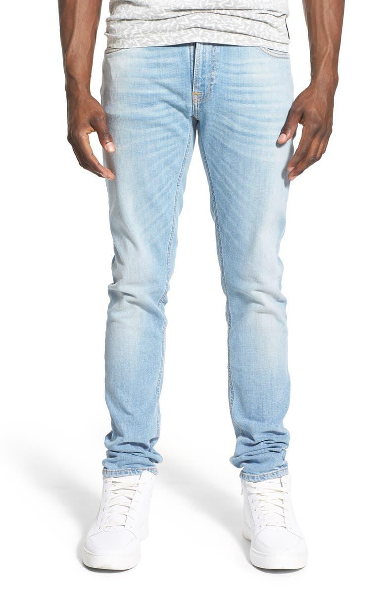 2a9c113cd77f Nudie Jeans 'Skinny Lin' Skinny Fit Jeans (Blonde Orange) | Nordstrom