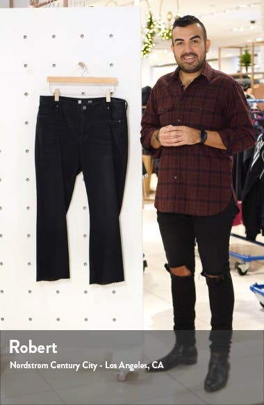 Stella Kick Flare Crop Jeans, sales video thumbnail
