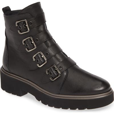 Paul Green Bobbi Moto Boot - Black