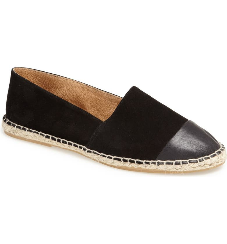 TOPSHOP 'Koala' Espadrille, Main, color, 001