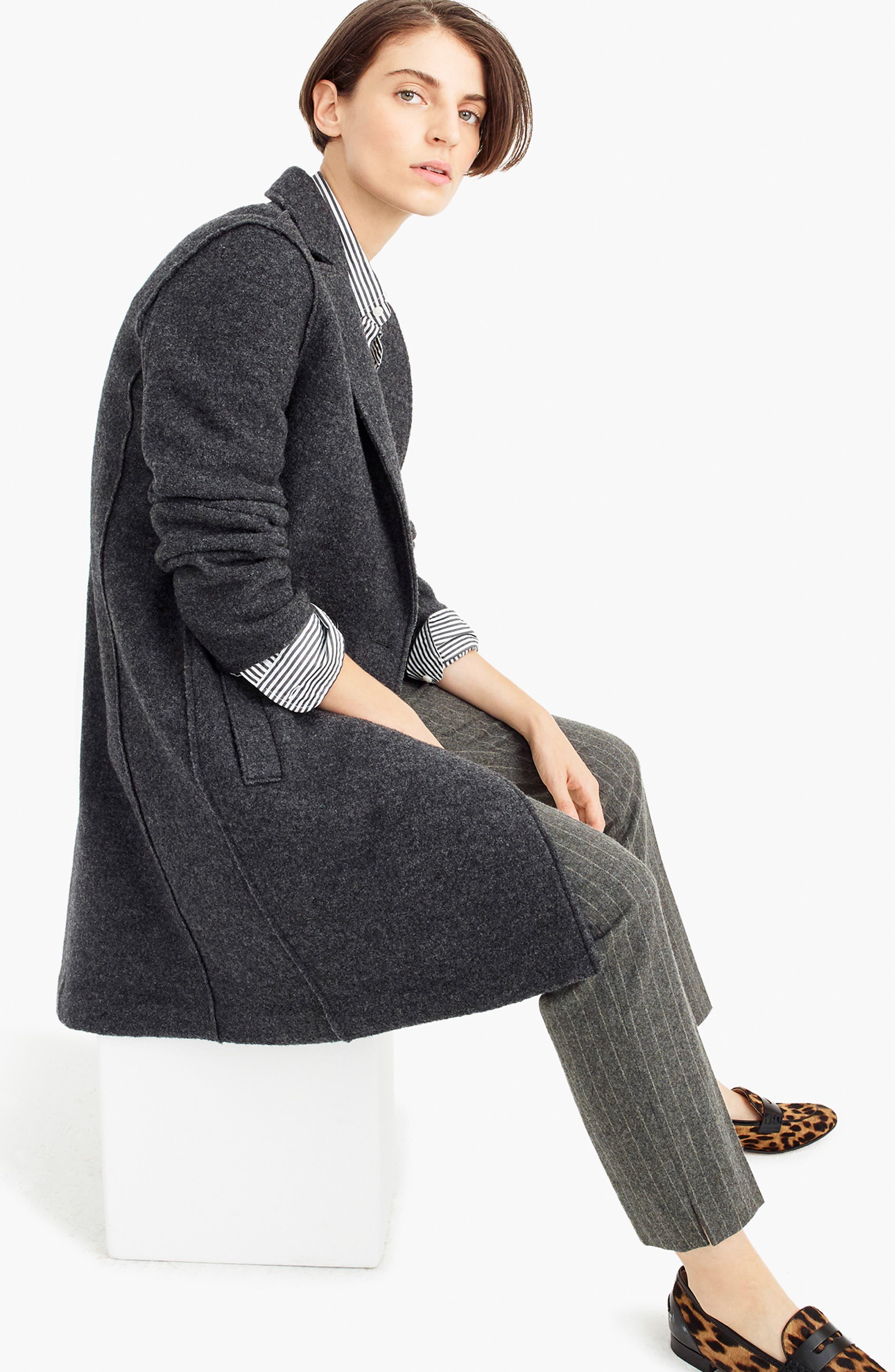 ,                             Daphne Boiled Wool Topcoat,                             Alternate thumbnail 25, color,                             091