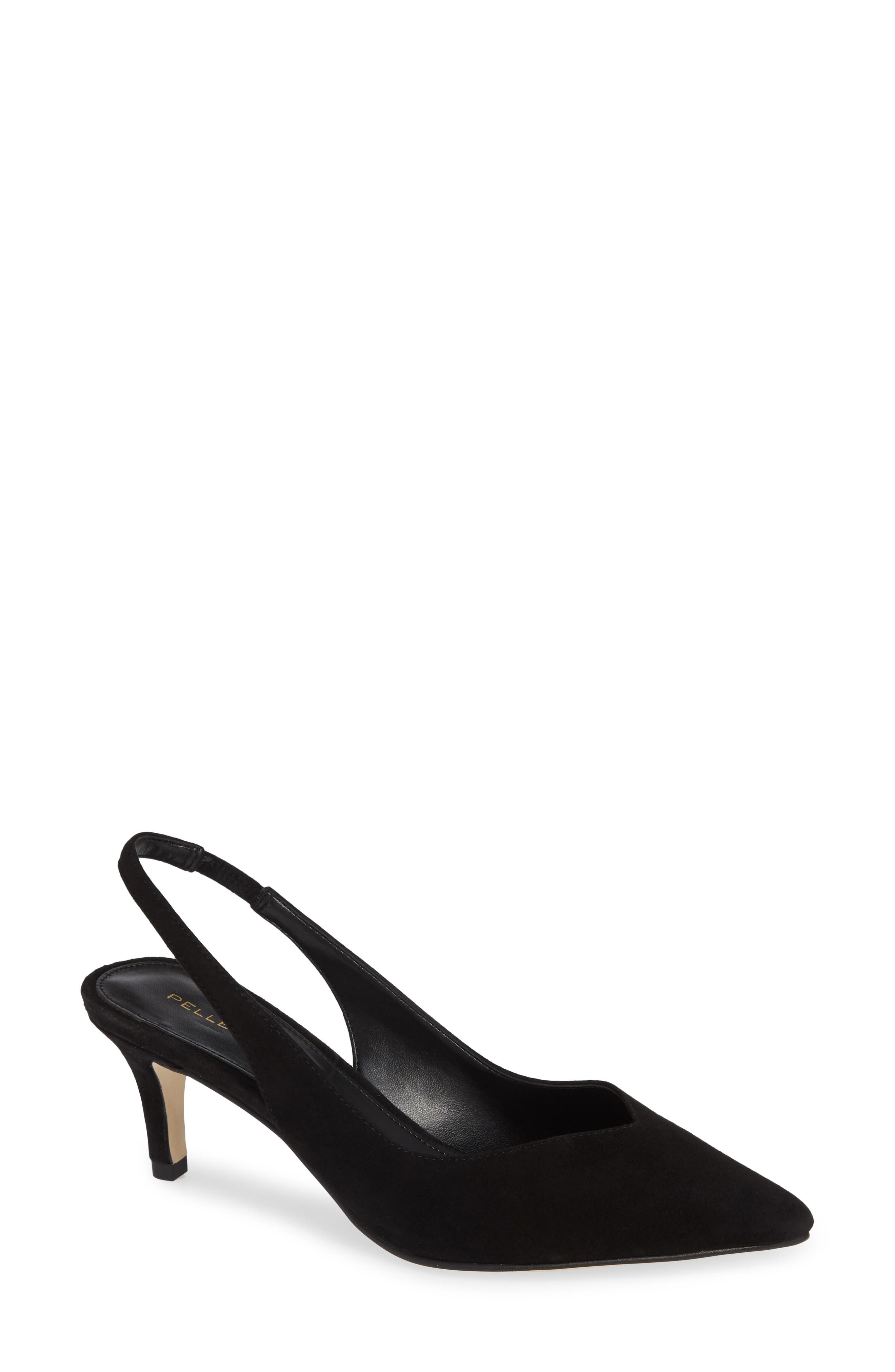 A slingback strap adds a graceful flourish to this impeccable pointy-toe pump. Style Name: Pelle Moda Kerstin Pump (Women). Style Number: 5639207. Available in stores.
